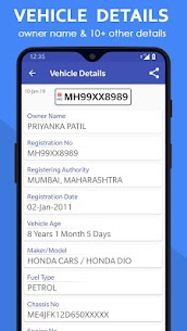 Vehicle Owner Details India App Download for Android 2