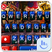 Street Graffiti Keyboard Theme