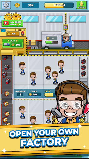 Idle Worker Tycoon screenshot 1