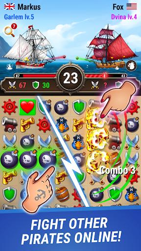 Pirates & Puzzles - PVP League apklade screenshots 1