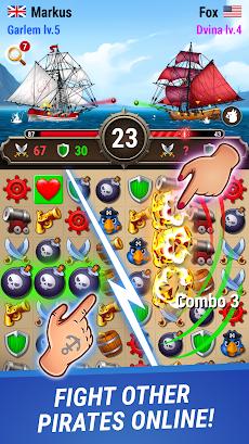 Pirates & Puzzles - PVP Leagueのおすすめ画像1