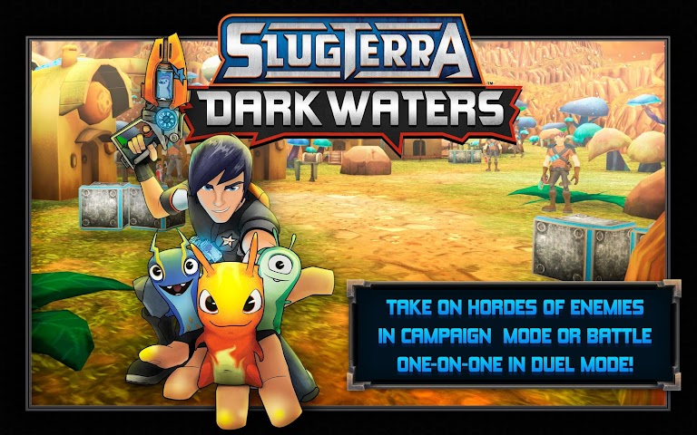 android Slugterra: Dark Waters Screenshot 0