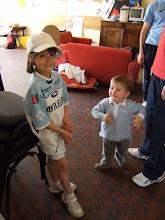 Photo: Et Mathilde me prendra dans son équipe !