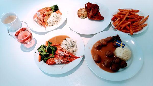 IKEA台中餐廳 燈光美氣氛佳 必吃美食有哪些? 用餐心得分享