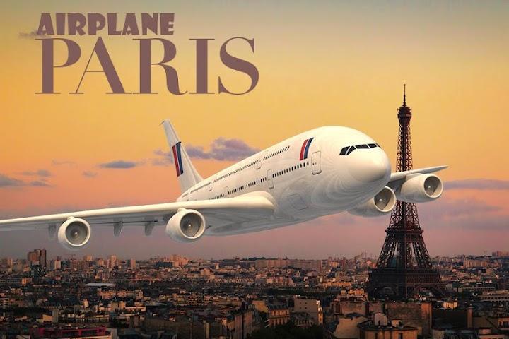 android Airplane Paris Screenshot 0