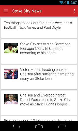 BIG Stoke Football ニュース