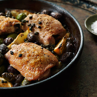 Chicken with Olives and Capers.