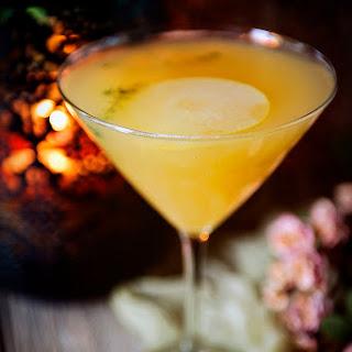 Pear Martini Cocktail.