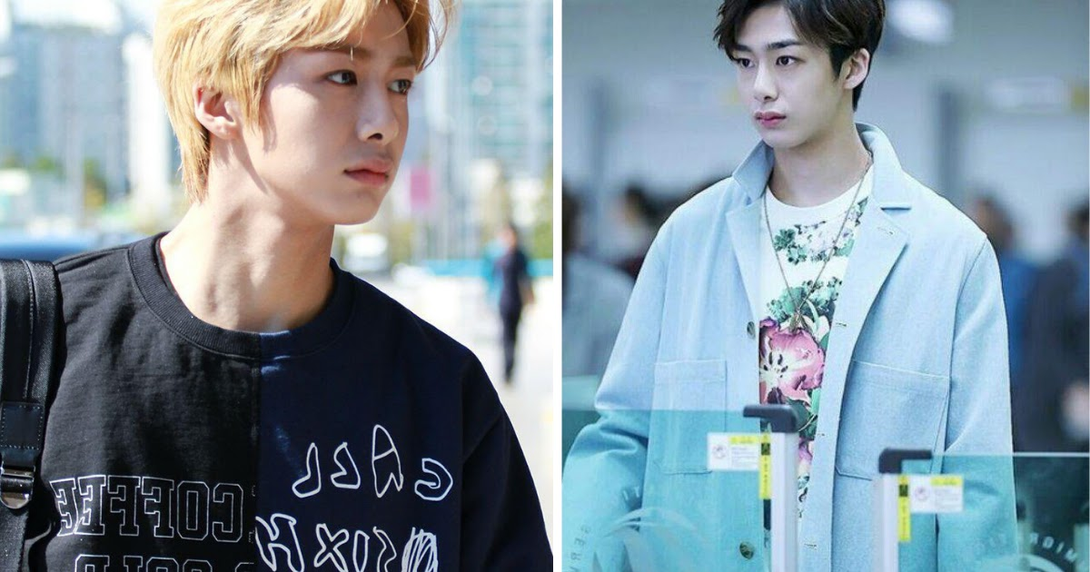 10 Times Monsta X S Hyungwon Made Our Jaws Drop With His Ridiculously Gorgeous Airport Fashion Koreaboo