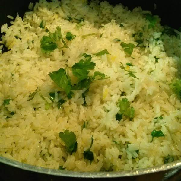 Lemon Cilantro Rice Recipe