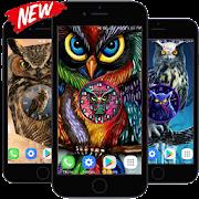 Owl Clock Live Wallpaper HD