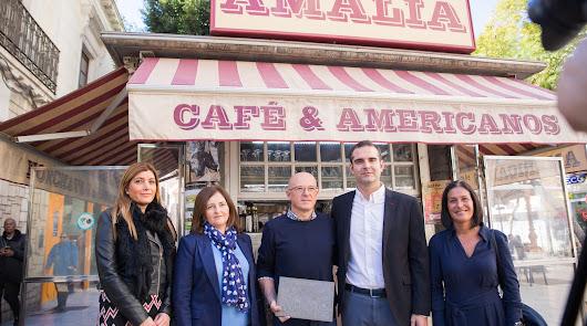 Reconocimiento a los centenarios Kiosco Amalia y La Dulce Alianza