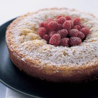Easy Almond Cake.