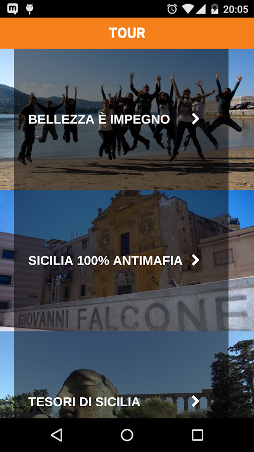 Addiopizzo Travel- screenshot