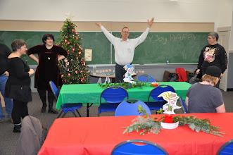 Photo: RASP president Michael Heavener welcomes everyone to get us started.