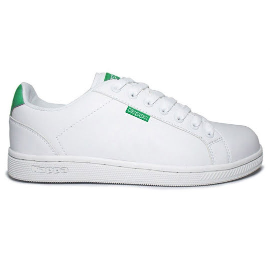 KAPPA Sneakers zooms Unisex White/Green Stl: 46