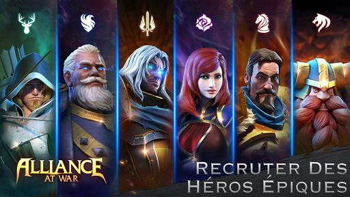 Télécharger Alliance at War: Dragon Empire - Strategy MMO mod apk screenshots 5