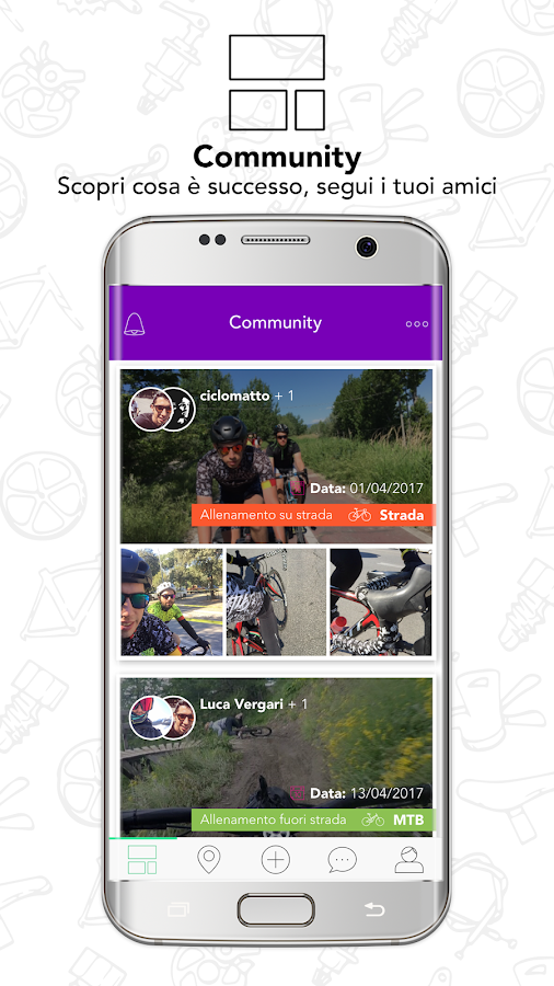 Followhere - Bike for the Masses- screenshot