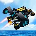 Flying Stunt Car Simulator 3D icon