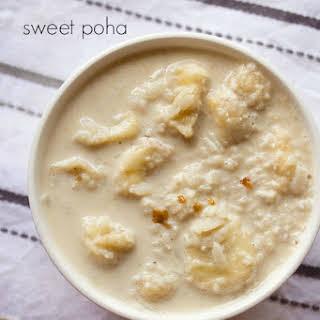 Sweet Poha.
