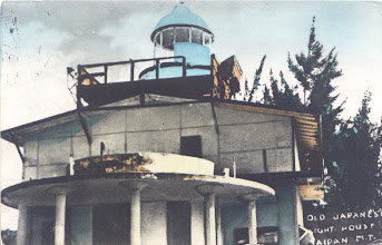 Photo: 194-? Saipan Japanese Lighthouse