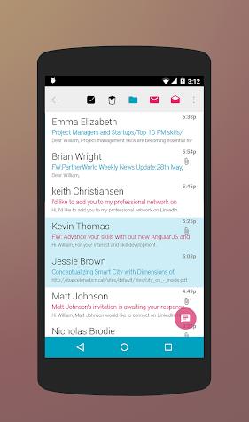 Stack Mail - Exchange Screenshot