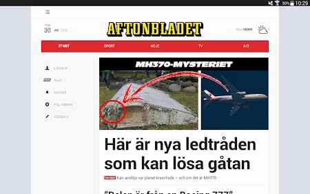 Aftonbladet 4.0.40 screenshot 623617