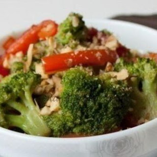 Warm Salad of Peppers and Broccoli Recipe