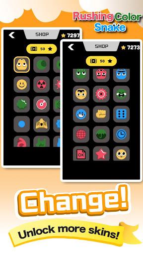 Rushing Color Snake-Super Fun Speed Leisure Games screenshot 3