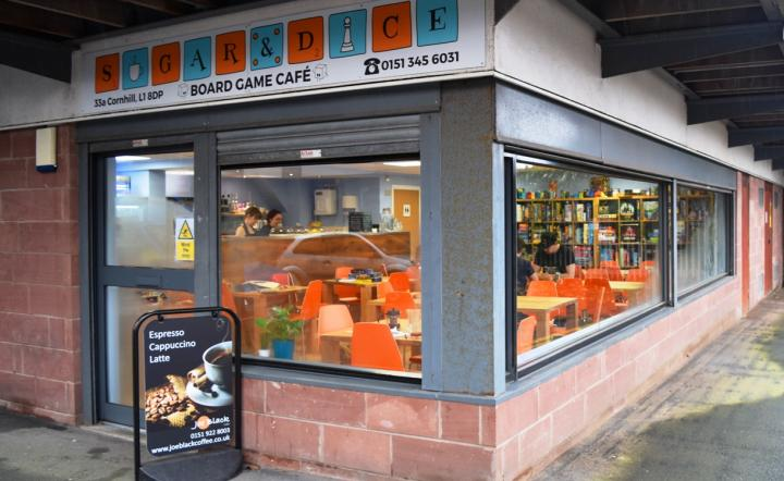 Exterior shot of Liverpool's Sugar and Dice