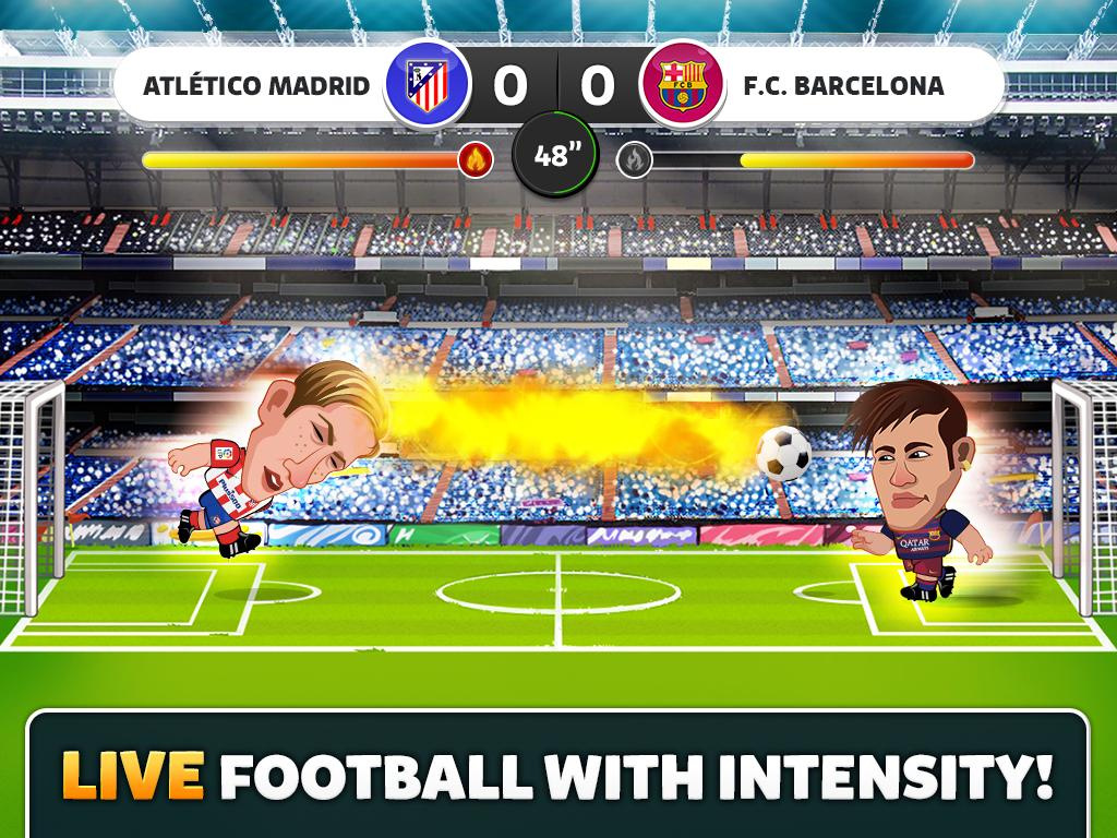 Head Soccer La Liga 2016 Screenshot 1