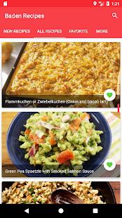 German Baden Recipes - náhled