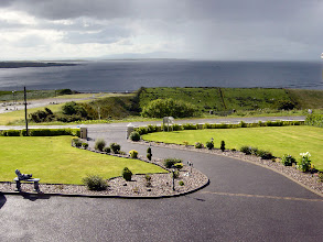 "Photo: Donegal Bay from Ethna's guest house ""Innishduff"""