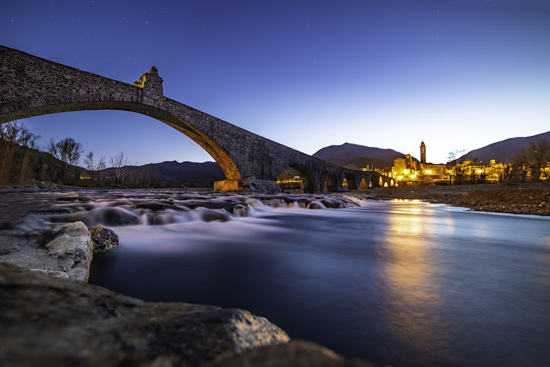 Ponte Gobbo all'imbrunire di Zanna4ever