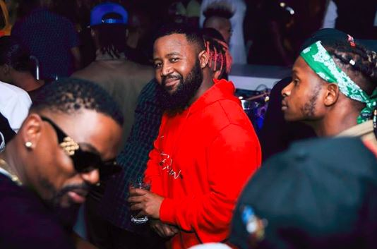 Cassper Nyovest is nominated in the Best International Act category.