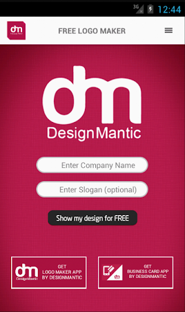 Free Logo Maker - DesignMantic 1.0 screenshot 43392