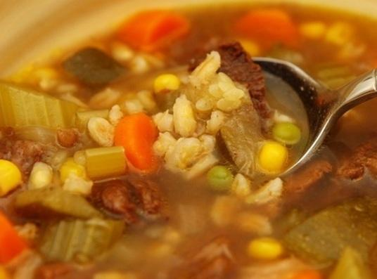 Impromptu Vegetable Soup Recipe