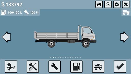 Mini Trucker - 2D offroad truck simulator 1.3.3.4 screenshots 1