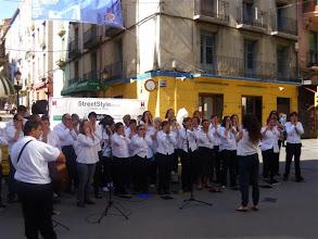 Photo: Actuación Coro Arcadia y ATADES