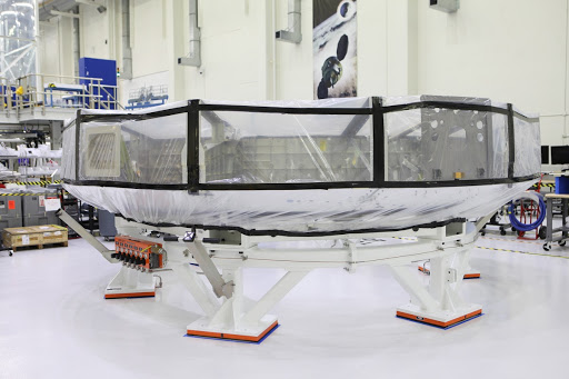 Orion EM-1 Crew Module Adapter Move to Clean Room