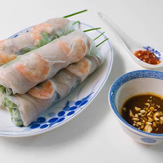 Vietnamese Spring Rolls Recipe (Goi Cuon)