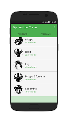 gym workout trainer : fitness - screenshot