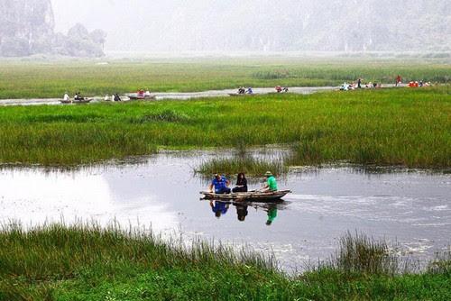 Khu bảo tồn Vân Long tăng 20% du khách nội địa