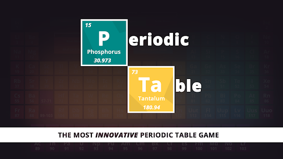 Periodic table game android apps on google play periodic table game screenshot thumbnail urtaz Choice Image