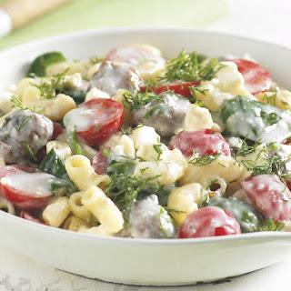 Greek-Style Lamb Macaroni