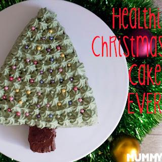 The Healthiest Christmas Tree Cake EVER!.