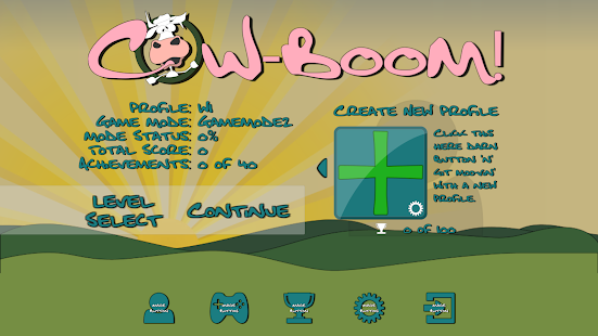 Cow-Boom! Screenshot