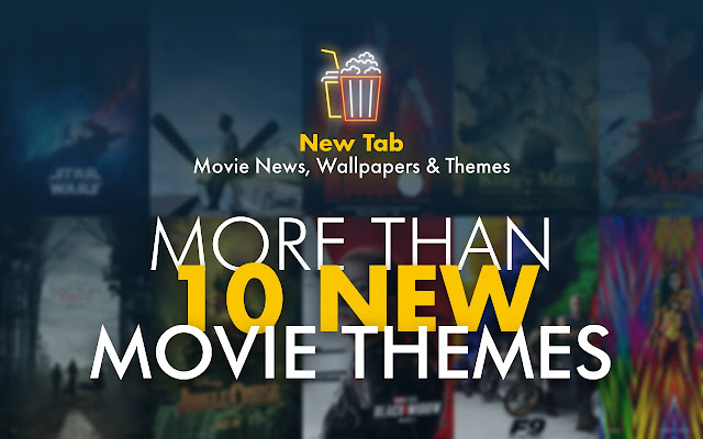 New Tab - Movie News, Wallpapers & Themes