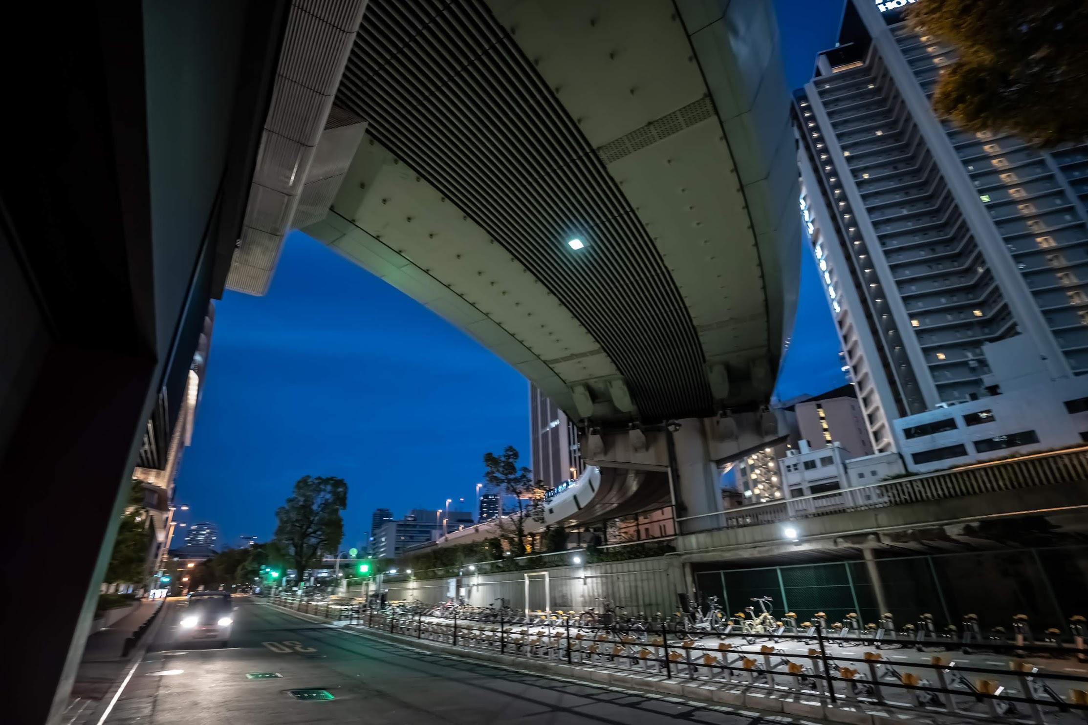 Osaka Nakanoshima evening1