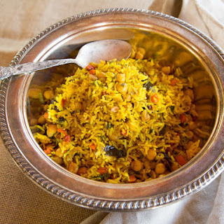 Middle Eastern Roasted Vegetable Rice